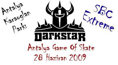 darkstar antalya game of skate