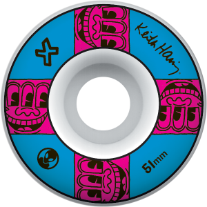 Alien Workshop 51mm Haring Tv Face Tekerlek Seti