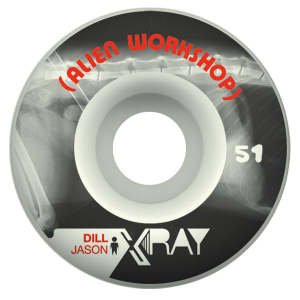 Alien Workshop 51mm Xray Dill Tekerlek Seti