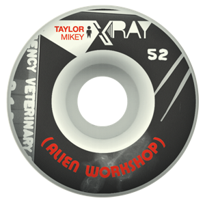 Alien Workshop 52mm Xray Taylor Tekerlek Seti