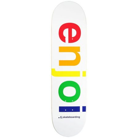 Enjoi 8,1 Spectrum White Deck Kaykay Tahtası