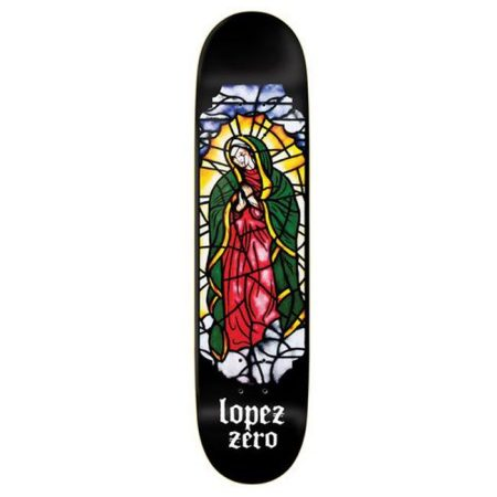 Zero 8,375 Stained Glass R7 Lopez Deck Kaykay Tahtası