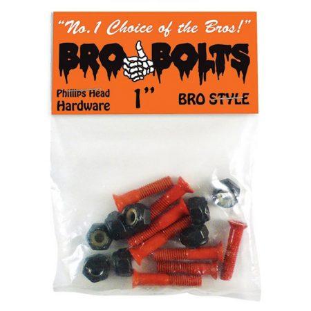Bro Style Orange Yıldız Vida Seti yanında sticker paketi hediye. Uzunluk: 1' Paket içerisinde 8 adet yıldız vida, 8 adet somun, 1 adet sticker vardır.