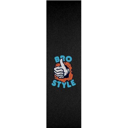 Bro Style Ripper Thumb Zımpara yanında sticker paketi hediye. Bir adet kaykay için üst kalite, bir adet zımpara.