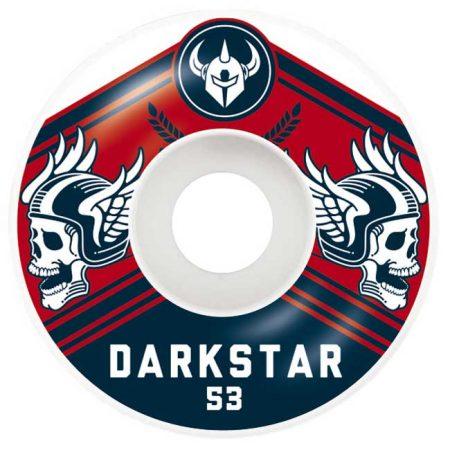 Darkstar 53 mm Ale Navy Red Tekerlek Seti yanında sticker paketi hediye. Darkstar tekerlekler yüksek kalite urethane bileşiminden üretilmiştir. 1 paketin içerisinde 4 adet tekerlek vardır. fiyat 4 adet tekerlek için geçerlidir. 1 adet sipariş verdiğinizde 4 tekerlekten oluşan seti satın almış olursunuz. Sertlik: 99 A Darkstar Tarihi: Darkstar profesyonel kaykaycı Chet Thomas tarafından 1997 yılında kurulmuştur.Kurulduğu günden bu yana duruşunu bozmadan çok geniş bir kitleye hitap etmektedir. Bunun en büyük sebebi ürettiği tahta ve tekerlekler en üst kalite olmasından kaynaklanır. Aynı zamanda Darkstar kaykay dünyasının en elit takımlarından birisine sahiptir.